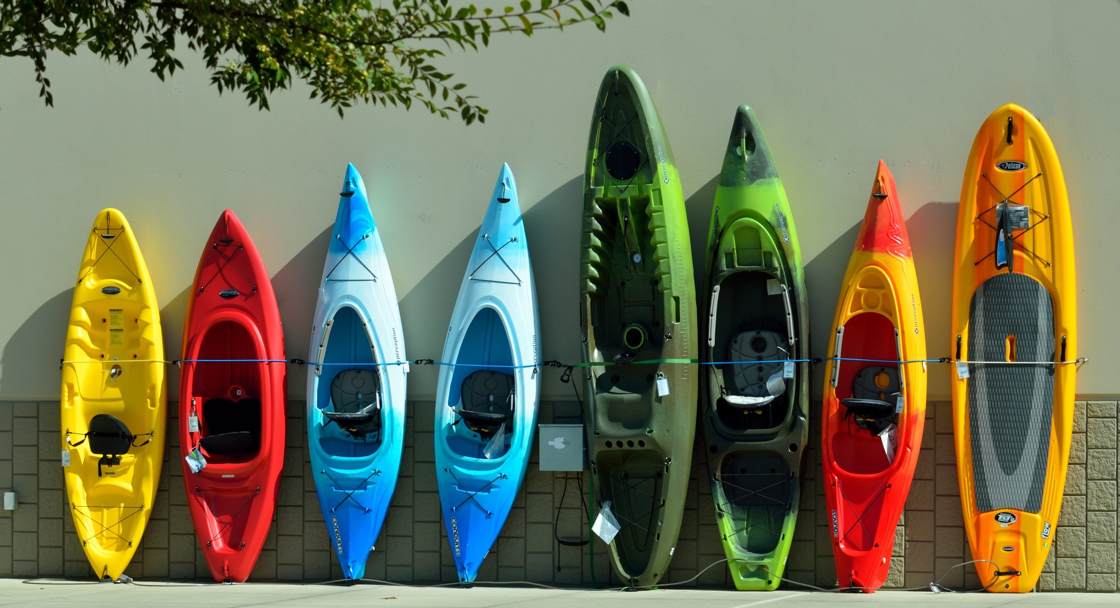 Types Of Kayaks For Every Water Experience