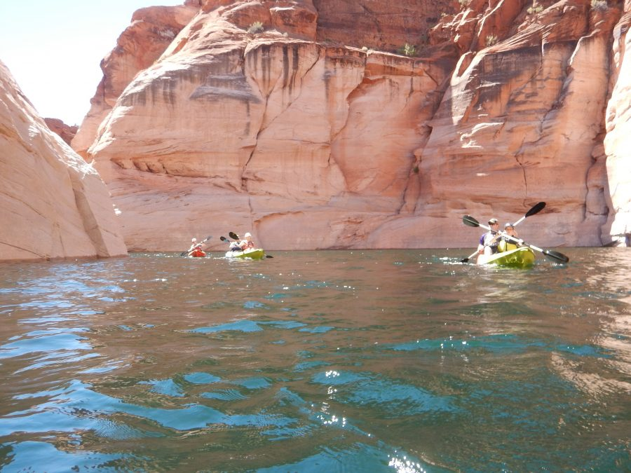 Kayaking in Arizona