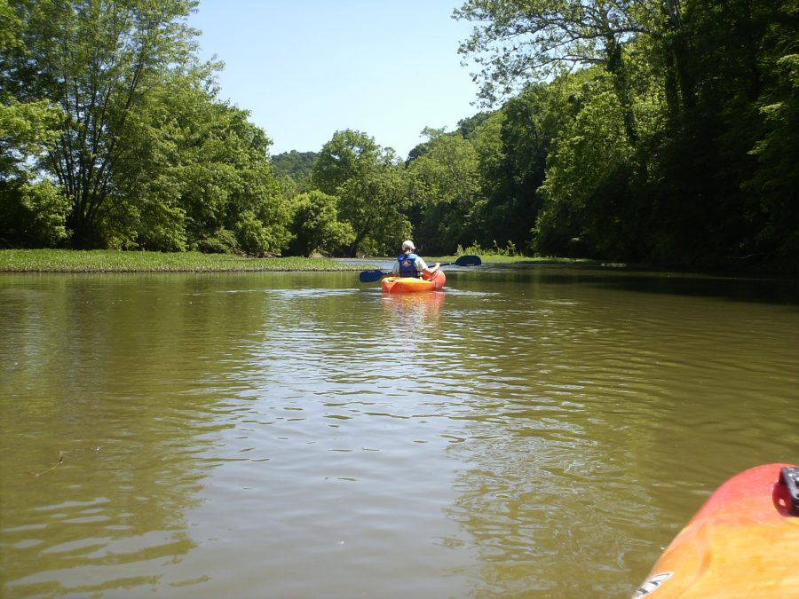 Kayaking in Ohio